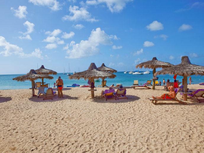 Reduit Beach In St Lucia